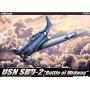 """Academy 12296 Сборная модель самолета USN SBD-2 """"Midway"""" (1:48)"""
