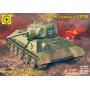 Моделист 303526 Сборная модель танка Т-34-76 с башней УЗТМ (1:35)