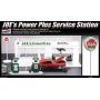 """Academy 15122 Сборная модель диорамы Станция автосервиса """"Joe's Power Plus"""" (1:24)"""